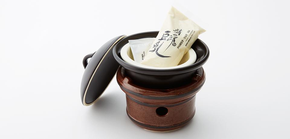 手作り豆腐セット(萬来鍋と豆乳にがり5本セット)